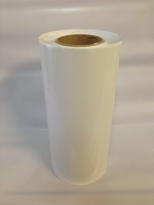 "Roll  White Vinyl 24 "" x 50 yards  ( 150 Feet  ) Great Deal Glossy"