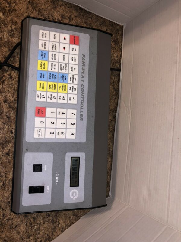 Fair-Play MP-69 Scoreboard Controller with Case and manuals