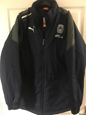 2014/2015 Coventry City managers football jacket shirt small men's Puma BNWOT image