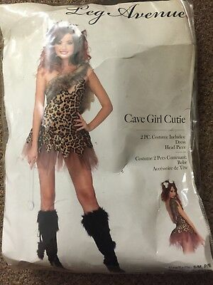 Leg Avenue Women's Cave Girl Cutie Costume Adult Party Halloween