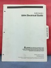 Original 1994 Jaguar XJS Wiring Diagrams electrical guide ...