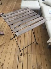 Outdoor table retro choc Hornsby Heights Hornsby Area Preview