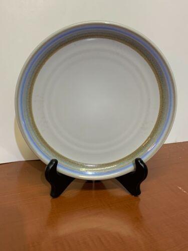 """Lot of 5 Salad Plates Polar by NORITAKE Stoneware 8 1/4"""" diameter"""