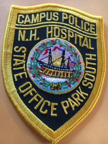NH Hospital Campus Police New Hampshire Vintage Police Patch