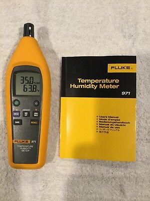 Mint Fluke 971 Temperature Humidity Meter