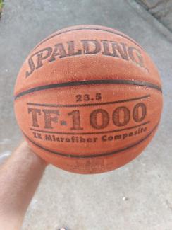 Spalding TF 1000 microfiber  composite ball