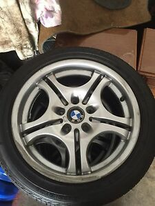 "17"" BMW 3 series e46 wheels and tyres Sydney City Inner Sydney Preview"