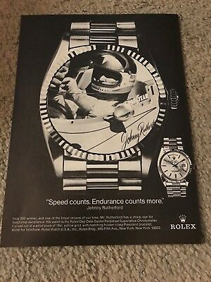 Vintage ROLEX DAY-DATE OYSTER PERPETUAL SUPERLATIVE CHRONOMETER Watch Print Ad