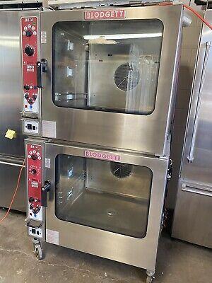 Blodgett Bx-14g Single Double Gas Boilerless Combination Combi Oven Steam Oven