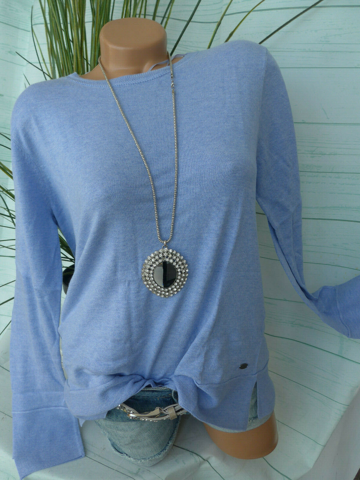 edc by Esprit Damen Pulli Pullover Gr. XL bis XXL blau Ton (149) NEU