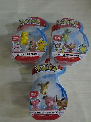 Pokemon Series 3 Battle Figures -  3 PACK