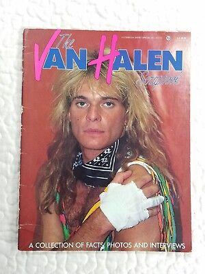 The Van Halen Scrap Book Collection of Facts Photo Interviews Memorabilia 1982