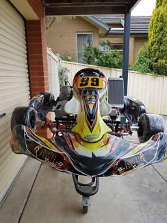 Go Kart Monaco M3 / IAME X30 TAG 125