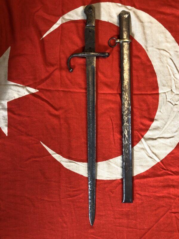 WWI WW1 Ottoman Turkish Original Bayonet