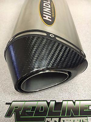 2016 Kawasaki ZX10R Hindle Titanium Slipon carbon tip with Cat Delete mid pipe