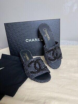 Chanel Women Embellished Cc shoes Size 6