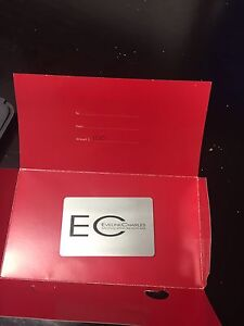 100$ Eyeline Charles gift certificate for sale.