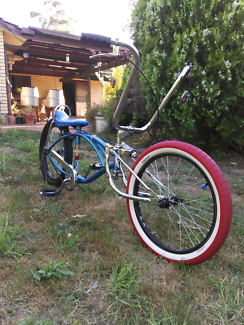 Dragster lowrider bicycle