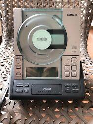 AIWA  CD Stereo Radio Dual Alarm Clock Digital FR-CD3000UC