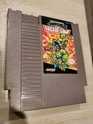 Teenage Mutant Ninja Turtles 2 II The Arcade Game Nintendo NES Authentic Tested