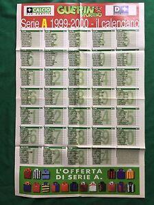 FM9-CALENDARIO-CAMPIONATO-CALCIO-1999-2000-A-B-Poster-80x55-da-Guerin-Sportivo