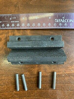 New Columbian Vise Jaws 603-12 503-12 203-12 T Shape With Pins 3-12 Wide