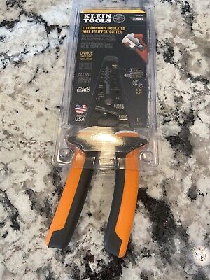 New Klein Tools Electricians Insulated Wire Strippercutter 11054eins 1000v