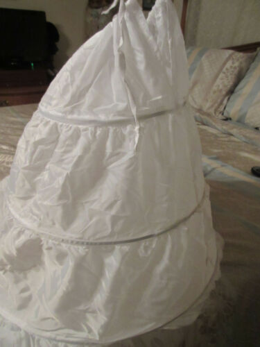 Victorian Dress Gown Long Full Hoop Skirt for Costume Petticoat - 40""