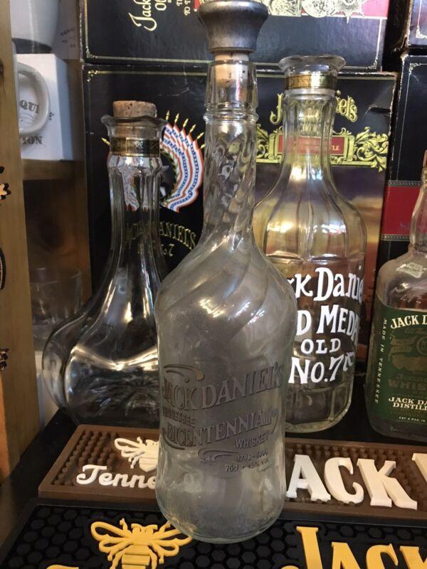 Jack Daniels Empty 70cl Bicenntial Bottle