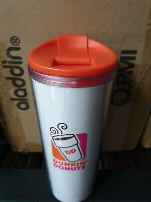 Dunkin Donuts coffee 16oz cup mug travel dishwasher safe BPA free teacher logo Dunkin Donuts Free Coffee