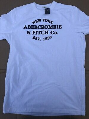 abercrombie & Fitch New York T-Shirt New Size Large