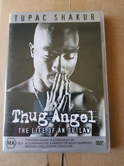 Tupac Sharkur 2pac Thug Angel DVD