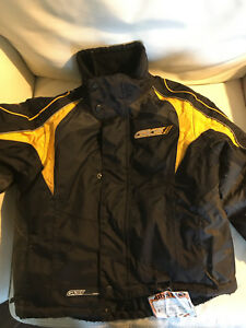 Boys snowmobiling coat 5-9 yr old size