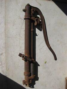 Antique Cast Iron Hand Water Pump, The Deming Co. Salem, Ohio