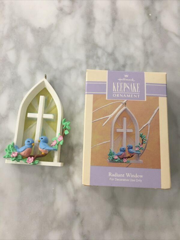 Hallmark Easter Ornament Radiant Window