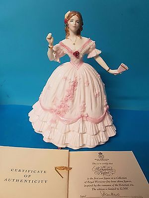 The Masquerade Begins Royal Worcester Figurine