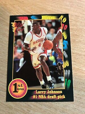 1991-92 Wild Card #1 Larry Johnson/First NBA Draft Pick ()