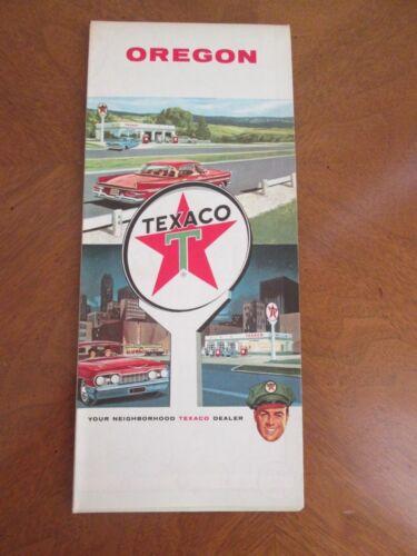 1963 TEXACO  OREGON  MAP