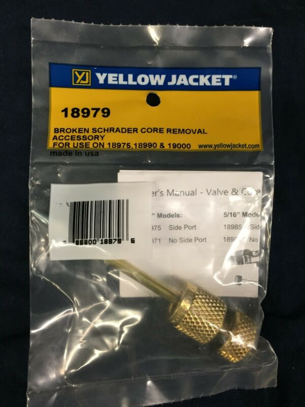 YELLOW JACKET BROKEN SCHRADER REMOVER ACCESSORY 18979