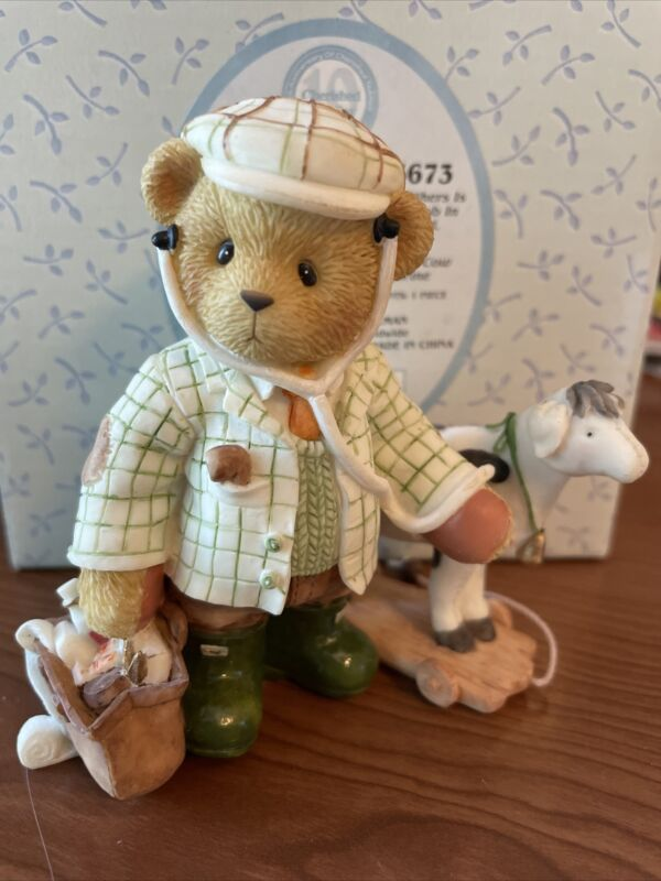 """Cherished Teddies Jim """"Helping Others Is The Best Job In The World"""" #105673 NIB"""