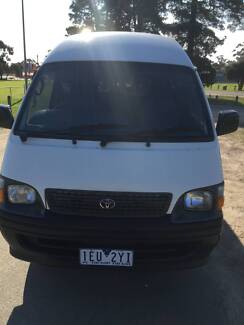 2003 Toyota Hiace Van/Minivan Notting Hill Monash Area Preview