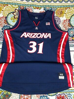 a38263f06234 Arizona Wildcats Nike Team Issued Game Worn Womens Basketball Jersey  Authentic