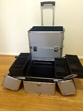 Performance Dance Case on Wheels - Silver with black lining Glen Forrest Mundaring Area Preview