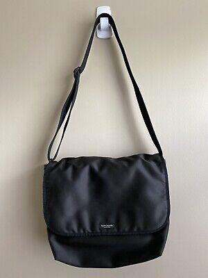 Kate Spade baby diaper / messenger bag black medium  cross body laptop