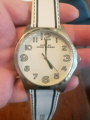 Marc by Marc Jacobs Women's Henry White & Black Watch Retails for $175.00