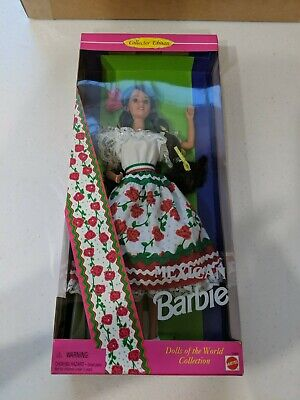 Collector Edition Mexican Barbie Dolls of the World NEW Mattel