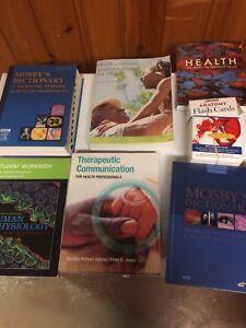 Old textbooks nursing program
