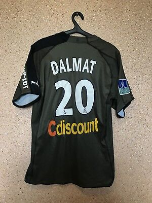 Bordeaux FRANCE 2006/2007 Third Match Worn FOOTBALL SHIRT JERSEY #20 DALMAT image