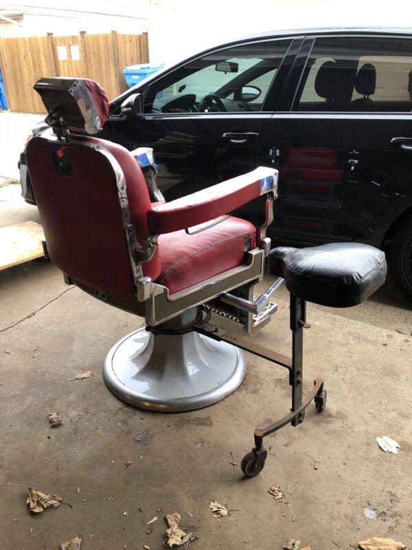 Koken, Paidar, Theo a Kochs Barber Chair Side Seat