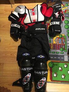 Kids hockey gear